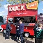 duck wraps truck