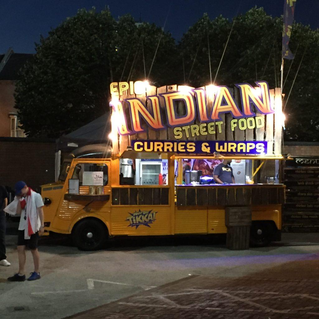 Street food van for hire