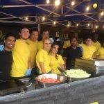 Event catering team