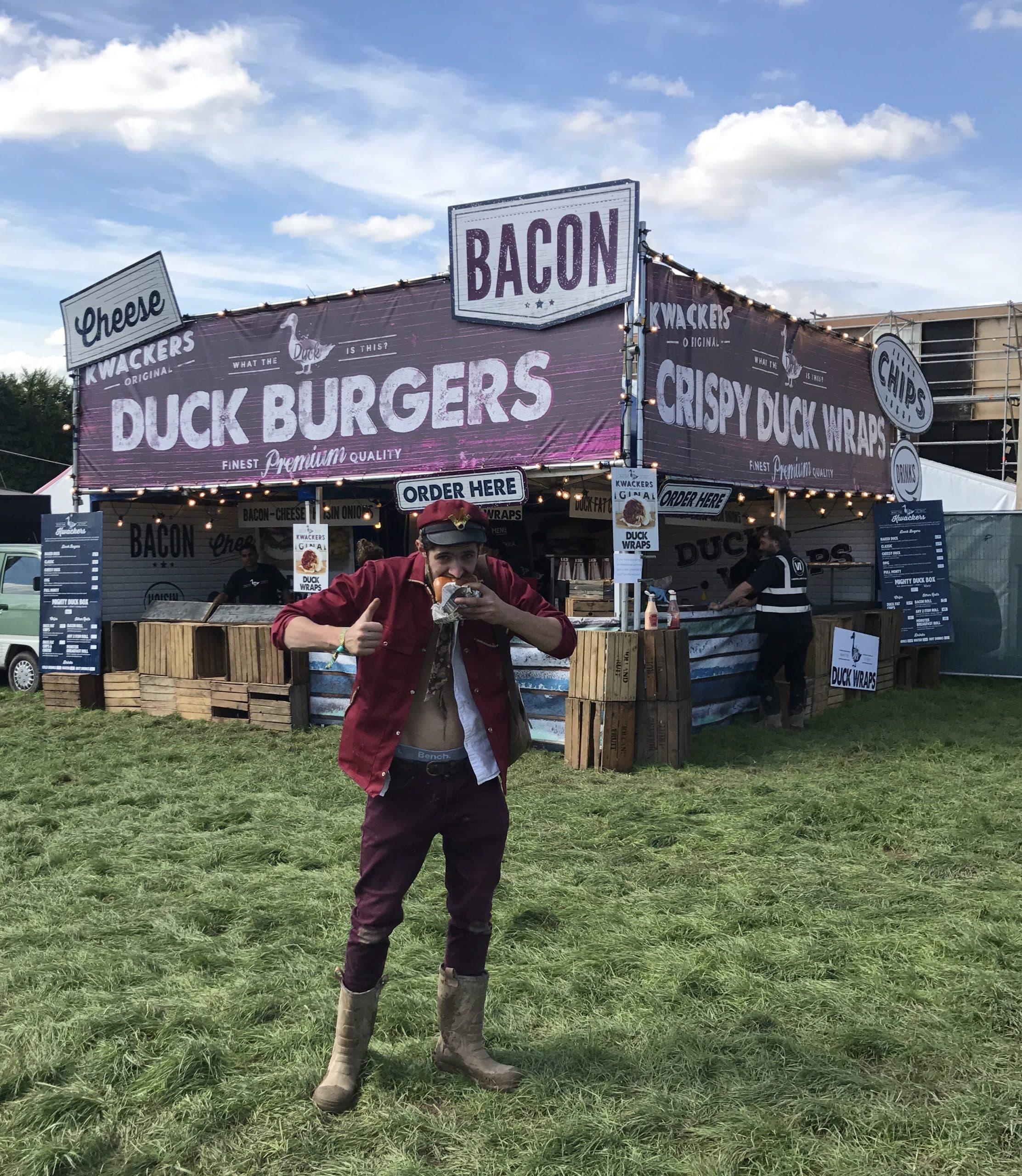 Street Food festival builds