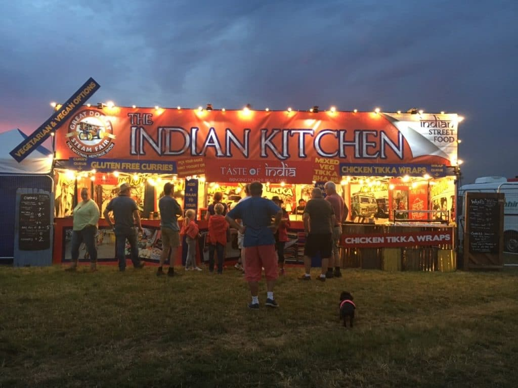 Indian festival catering