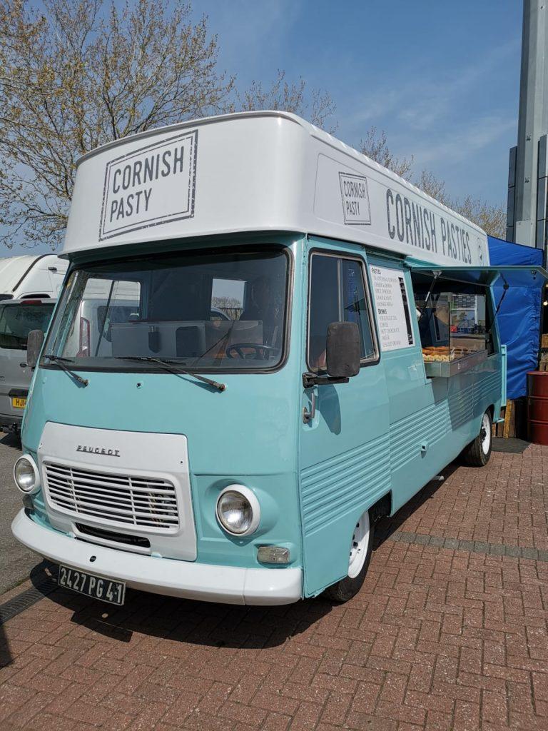 Catering van for hire