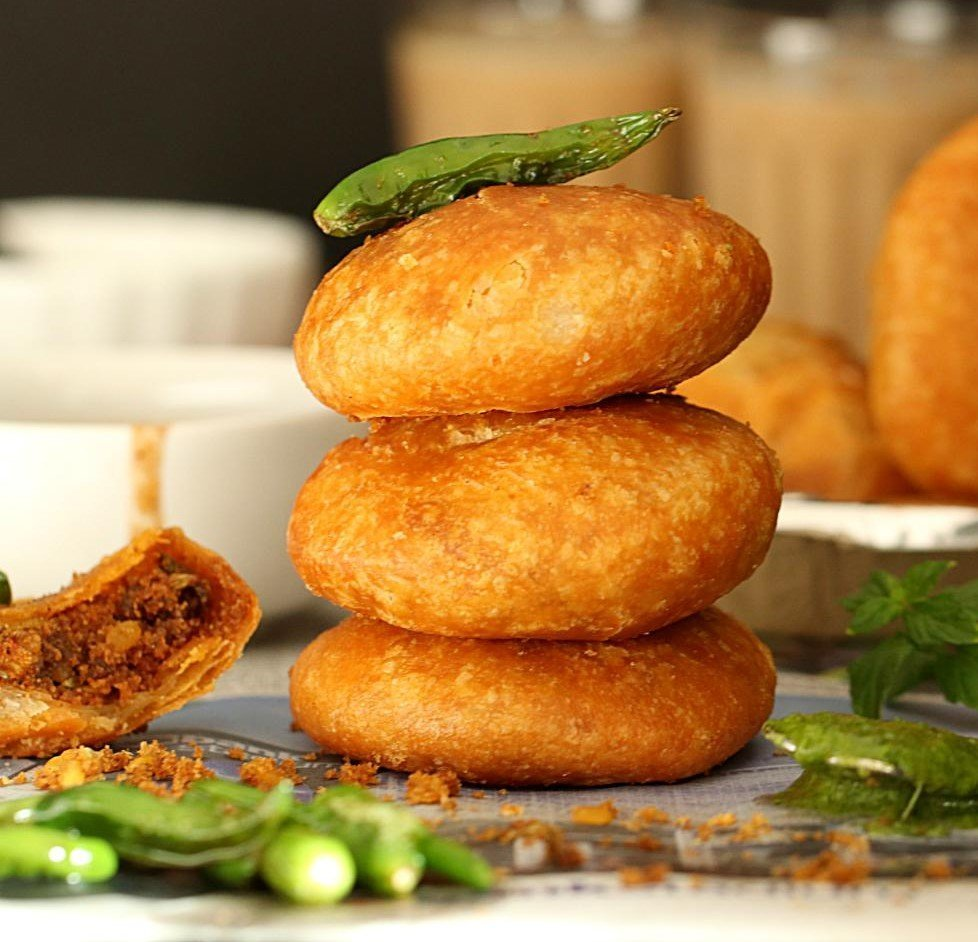 street food moong dal kachori