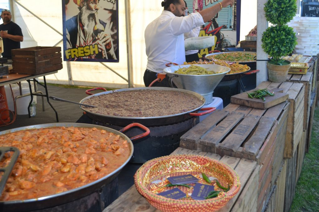 Wedding street food