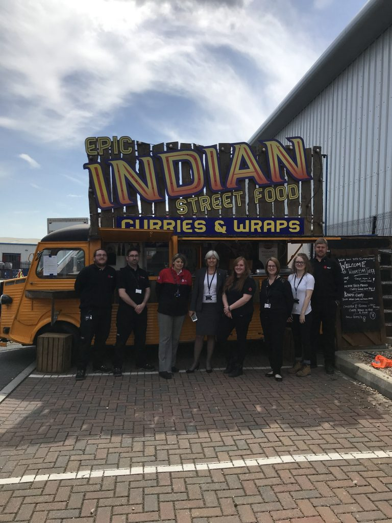 indian street food curries and wraps